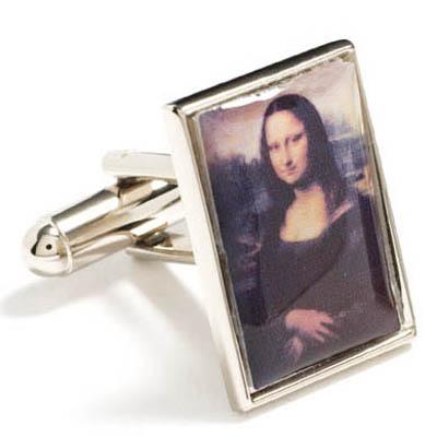 http://site.cufflinksman.com/images/cuffs/CLI-0087_Mona_Lisa_Cufflinks_1.jpg